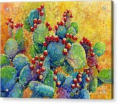 Desert Gems Acrylic Print by Hailey E Herrera