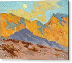 Desert Morning La Quinta Cove Acrylic Print by Diane McClary