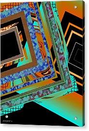 Design Texture And Color Acrylic Print by Mario Perez