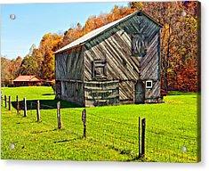 Designer Barn Acrylic Print by Steve Harrington
