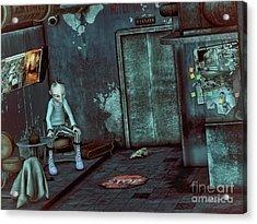 Desolation Acrylic Print by Jutta Maria Pusl