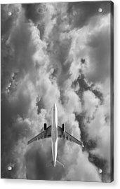 Destination Unknown Acrylic Print by Mark Rogan