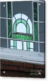Details In Green At St. John Acrylic Print by Jennifer Apffel