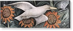 Detroit Industry   Detail Of West Wall Acrylic Print by Diego Rivera