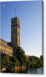 Deutsches Museum Munich - Meteorological Tower Acrylic Print by Christine Till
