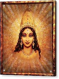 Devi Darshan Acrylic Print by Ananda Vdovic