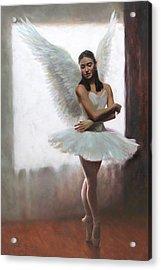 Devotion Acrylic Print by Anna Rose Bain