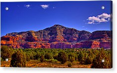Diamondback Gulch Near Sedona Arizona Iv Acrylic Print by David Patterson