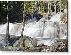 Dianas Bath - North Conway New Hampshire Usa Acrylic Print by Erin Paul Donovan