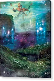 Dictate Of Kruphix Promo Acrylic Print by Ryan Barger