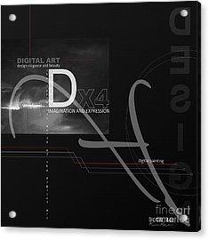 Digital Age X4 Acrylic Print by Franziskus Pfleghart