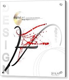 Digital Art 3.0 Acrylic Print by Franziskus Pfleghart