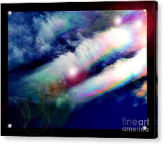 Dimensional Transits Acrylic Print by Susanne Still