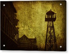 Diminished Dawn Acrylic Print by Andrew Paranavitana