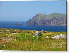 Dingle Coast Acrylic Print by Mary Carol Story