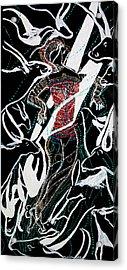 Dinka Dance Acrylic Print by Gloria Ssali