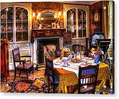 Dinning Room Acrylic Print by Svetlana Sewell
