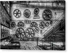 Dinorwig Quarry Workshop V2 Acrylic Print by Adrian Evans