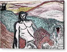 Dionysus By Jrr Acrylic Print by First Star Art