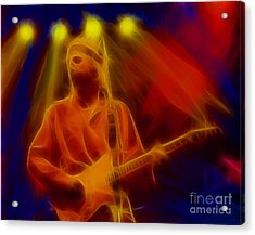 Dire Straits-4-fractal Acrylic Print by Gary Gingrich Galleries
