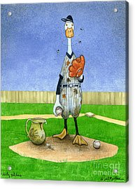 Dirty Pitchers... Acrylic Print by Will Bullas