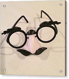 Disguise Acrylic Print by Patricia Januszkiewicz