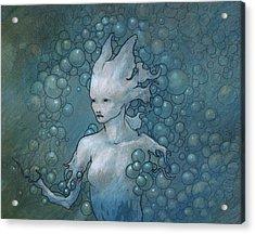 Disintegration Acrylic Print by Ethan Harris