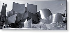 Disney Concert Hall - 02 Acrylic Print by Gregory Dyer
