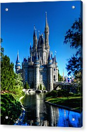 Disney Hdr 002 Acrylic Print by Lance Vaughn