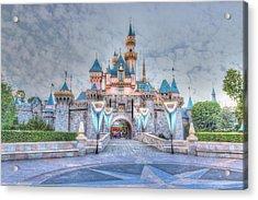 Disney Magic Acrylic Print by Heidi Smith