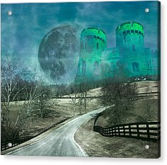 Distant Emerald Acrylic Print by Betsy Knapp