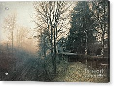 Distant Light Acrylic Print by Jutta Maria Pusl