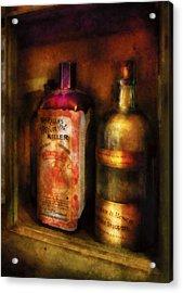 Doctor - Microbe Killer Acrylic Print by Mike Savad