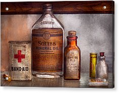 Doctor - Pharmacueticals  Acrylic Print by Mike Savad