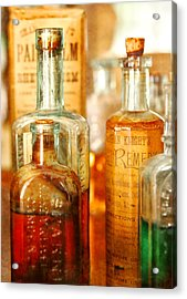 Doctor - Remedies For Hoarseness  Acrylic Print by Mike Savad