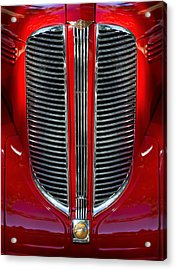 Dodge Brothers Grille Acrylic Print by Jill Reger