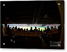 Dodger Stadium 2 Acrylic Print by Micah May