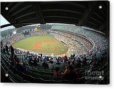 Dodger Stadium Acrylic Print by Micah May