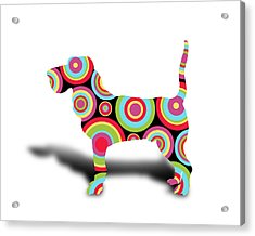 dog Acrylic Print by Mark Ashkenazi