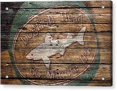 Dogfish Head Acrylic Print by Joe Hamilton