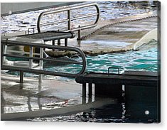 Dolphin Show - National Aquarium In Baltimore Md - 12122 Acrylic Print by DC Photographer