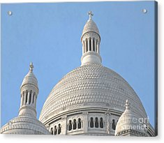 Dome Of Sacre-coeur Acrylic Print by Ann Horn