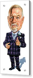 Don Grapes Cherry Acrylic Print by Art