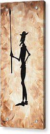 Don Quijote Acrylic Print by Edwin Alverio