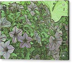 Donovan's  Garden Acrylic Print by Mark Herman