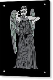 Dont Blink Acrylic Print by Jera Sky