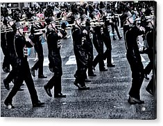 Don't Let The Parade Pass You By Acrylic Print by Bill Cannon