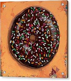 Donut #2 Acrylic Print by David Palmer
