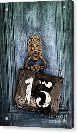 Door 15 Acrylic Print by Carlos Caetano
