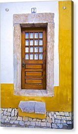 Door Number Two Acrylic Print by David Letts
